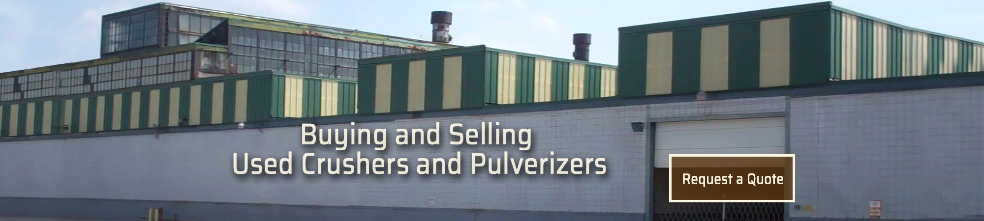 Buy or Sell Crushers or Pulverizers