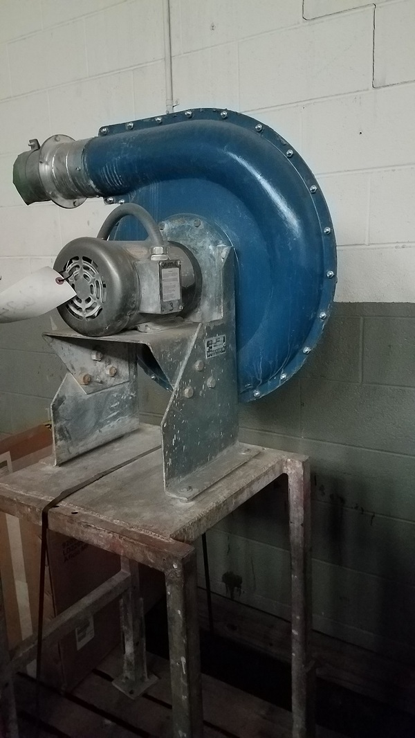 Buffalo Forge Blower Size 5 Type ES Blower Unit (DPM-1990