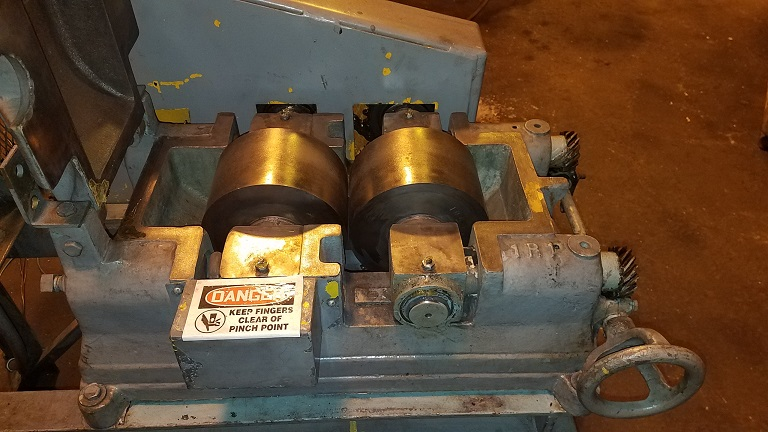 Sturtevant Roll Crusher 8 Inch X 5 Inch 2 Roll Crusher